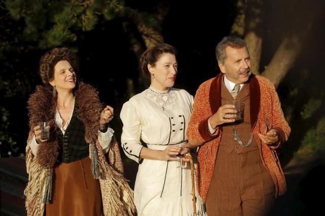 Juliette Binoche, Valéria Bruni Tedeschi et Fabrice Luchini... (fournie par le Cinéma du Parc)