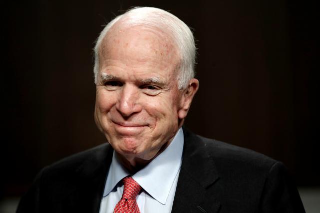 John McCain, le 11 juillet dernier... (AP, Jacquelyn Martin)