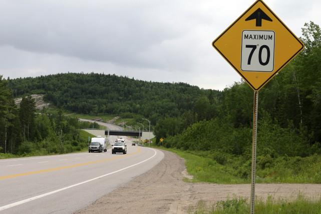 Les limites de vitesse inquiètent le maire de... (Audrey Tremblay)