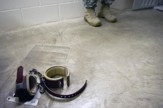 Omar Khadr a passé 10 ans à Guantanamo.... (ARCHIVES AFP)