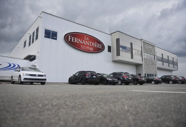 Après les travaux d'agrandissement, la manufacture La Fernandière... (François Gervais)