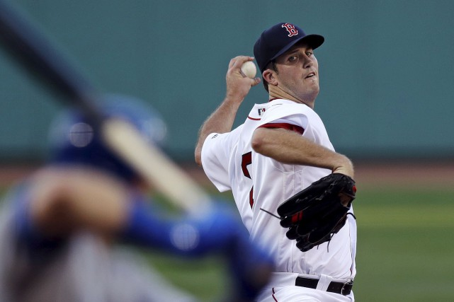 Le lanceur partant des Red Sox, Drew Pomeranz,... (Photo AP)