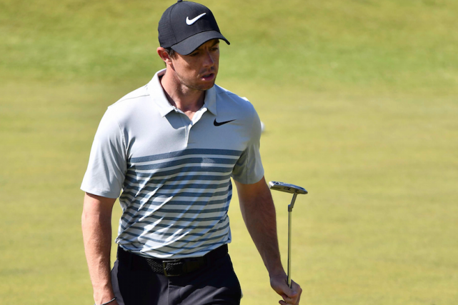Rory McIlroy... (AFP, Ben STANSALL)