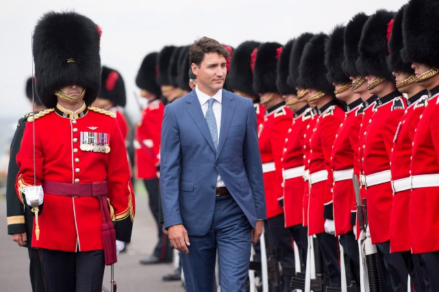 Le premier ministre Justin Trudeau a qualifié de... (Photo Jacques Boissinot, La Presse canadienne)