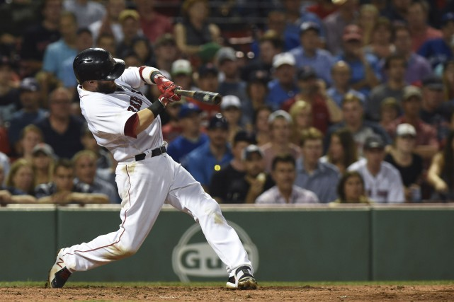 Dustin Pedroia... (Photo Bob DeChiara, USA Today Sports)