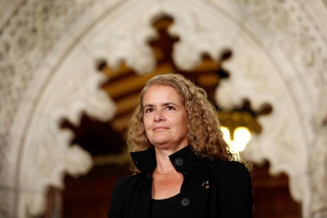 L'ex-astronaute Julie Payette doit devenir en septembre la... (PHOTO CHRIS WATTIE, REUTERS)