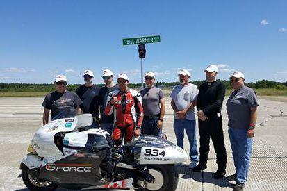 L'équipe de G-Force a tout donné à Loring... (Photo fournie)