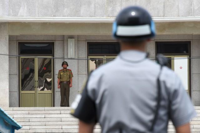 La Corée du Sud a proposé lundi des... (AFP)