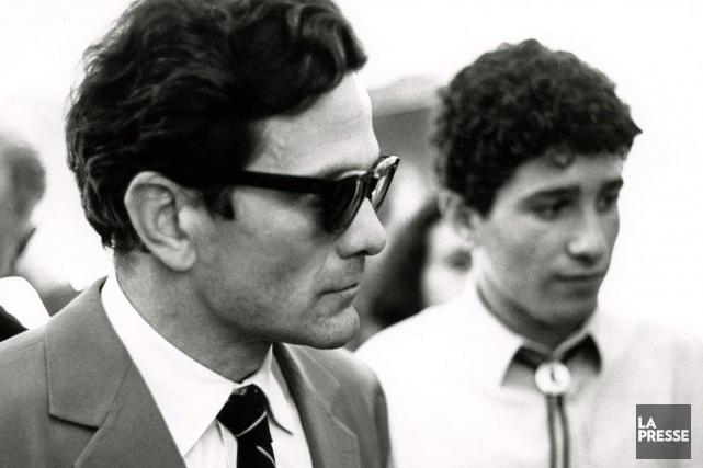 Le cinéaste Pier Paolo Pasolini lors de sa... (PHOTO ARCHIVES LA PRESSE)