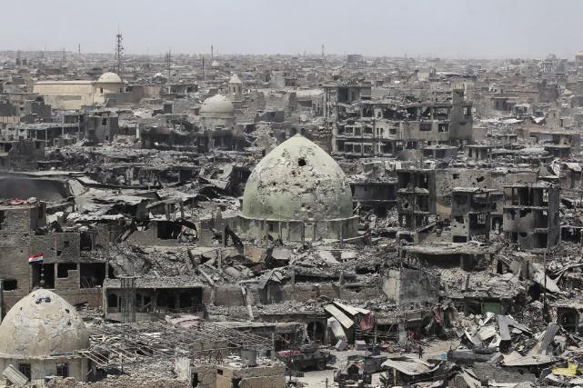 Cette photo prise le 9 juillet dernier montre... (AFP, Ahmad Al-Rubaye)