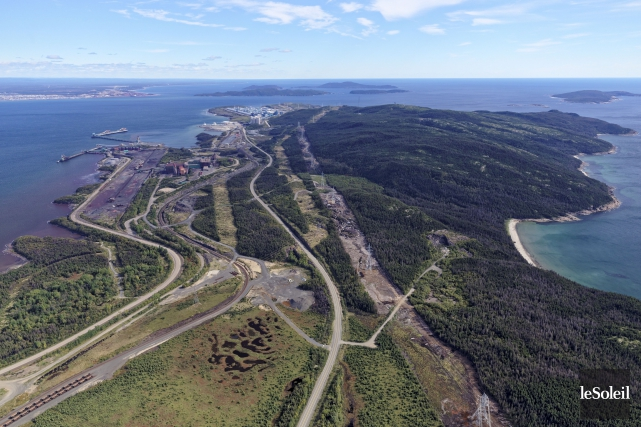 Québec vise que le convoyeur, long de 307... (Photothèque Le Soleil)