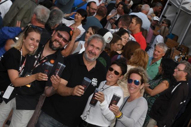 Saguenay (Chicoutimi), festival des bières du monde.Photo /...