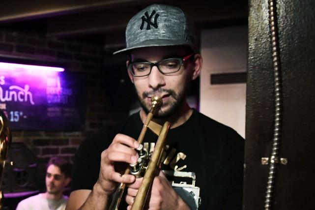 Le trompettiste Hichem Khalfa et son quartet visiteront... (Archives La Presse, Bernard Brault)