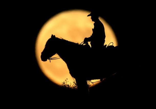 L'astre de la nuit a joué divers rôles dans l'histoire de l'humanité, dont... (photoMike Blake, archives reuters)