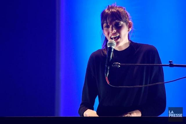 -Montreal, Quebec:Spectacle de Charlotte Cardin. Elle sera sur... (PHOTO BERNARD BRAULT, ARCHIVES LA PRESSE)