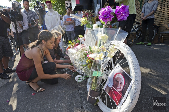 Meryem Ânoun a été happée mortellement par un... (Photo PATRICK SANFAÇON, LA PRESSE)