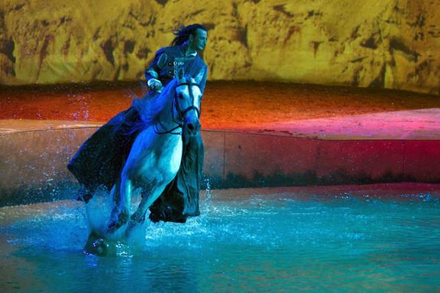 Cavalia présente des spectacles équestres en Chine depuis... (Photo fournie par Cavalia)