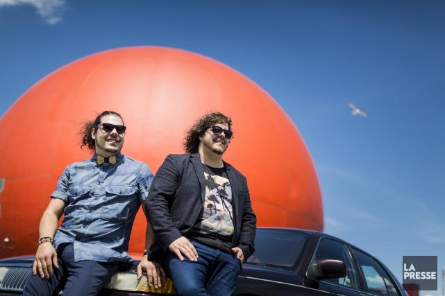 Approchant sa fin, la tournée d'Érik et Sonny... (La Presse, Édouard Plante-Frechette)