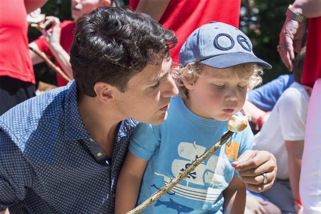 De passage dans un camp de jour en... (La Presse canadienne, Andrew Vaughan)