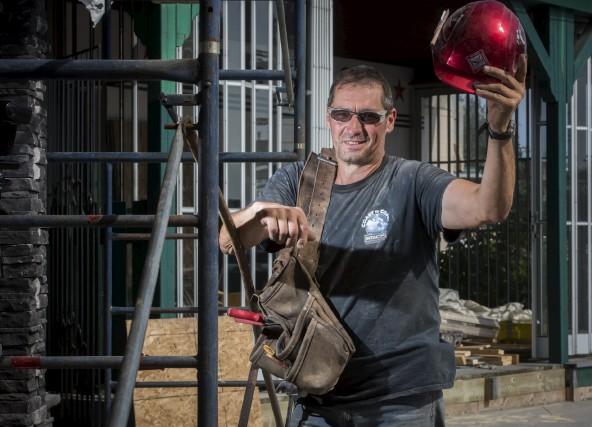 Les vacances de la construction commencent pour Sylvain... (François Gervais)