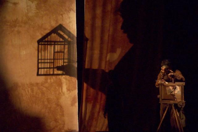 Méphisto Méliès, une production du Théâtre Motus et... (Courtoisie Télé-Québec Saguenay-Lac-Saint-Jean)