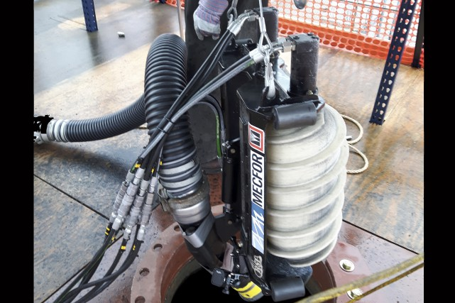 Ce robot amphirol devrait permettre un nettoyage plus... (Courtoisie)