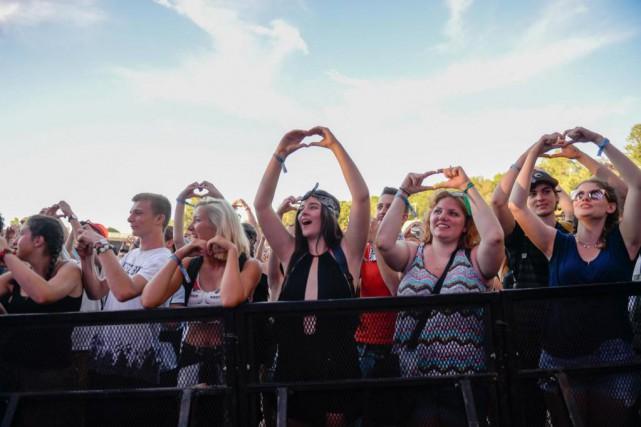 «J'aime Osheaga, parce que son offre musicale ratisse... (PHOTO Archives La Presse)