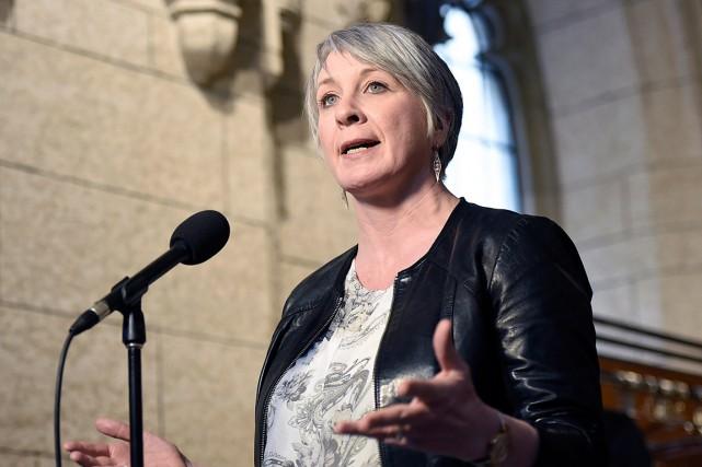 La ministre de l'Emploi et du Développement socialPatty... (PHOTO JUSTIN TANG, ARCHIVES LA PRESSE CANADIENNE)