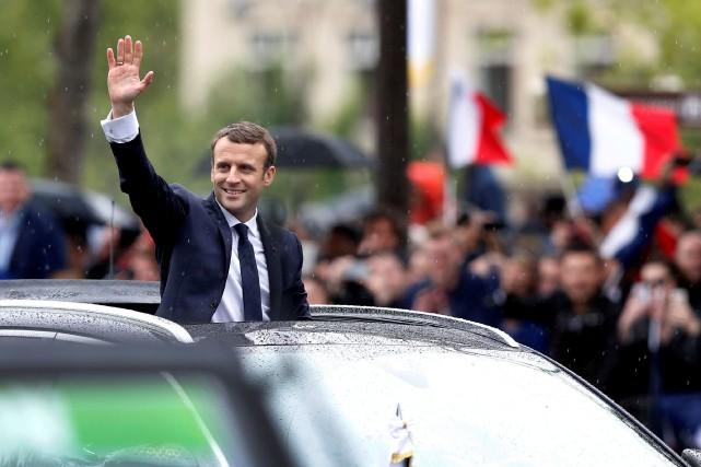 Pour le président Macron, 47% des sondés se... (Photo Reuters)