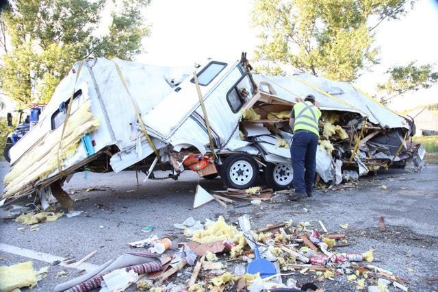 L'accident s'est produit près du chemin de la... (Spectre Média, Marie-Lou Béland)