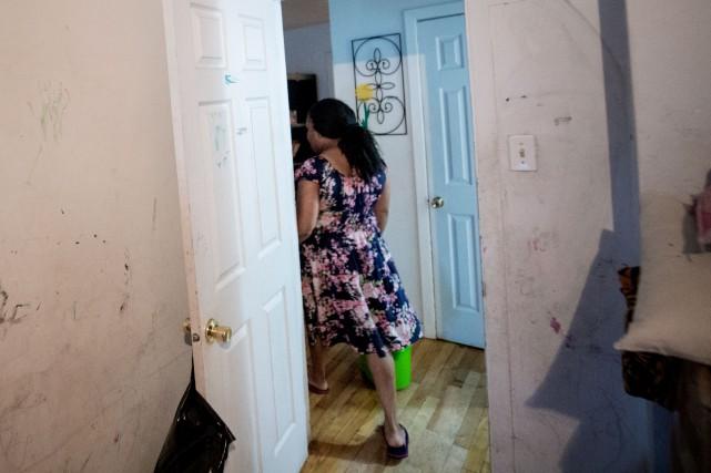 Vingt-huit résidants se sont présentés cette semaine à... (PHOTO MARCO CAMPANOZZI, LA PRESSE)