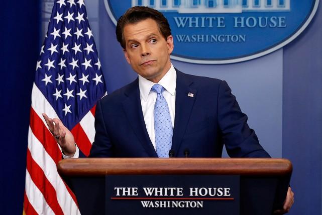 Anthony Scaramucci a été nommé vendredi directeur des... (PHOTO JONATHAN ERNST, REUTERS)