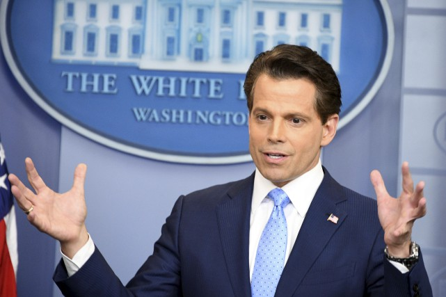Anthony Scaramucciavait parfois exprimé sur Twitter des vues... (AFP, Jim Watson)