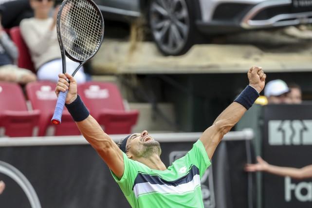 David Ferrer... (Photo Adam Ihse, TT via AP)