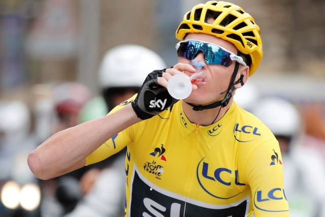 Chris Froome... (Photo Benoit Tessier, REUTERS)