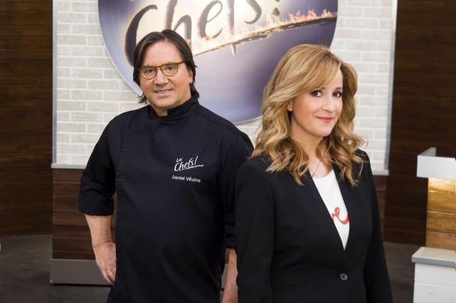 Daniel Vézina et Élyse Marquis... (Fournie par ICI Radio-Canada télé)