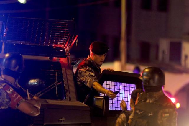 Il n'est pas clair dans l'immédiat si l'incident... (Photo AFP)