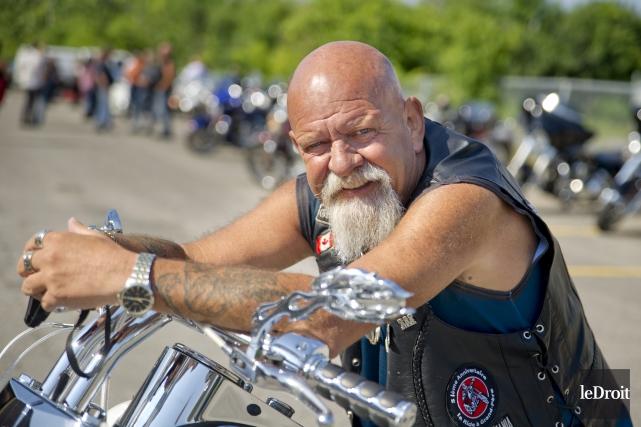 Daniel Shipman est l'organisateur de l'évènement la Ride... (Martin Roy, Le Droit)