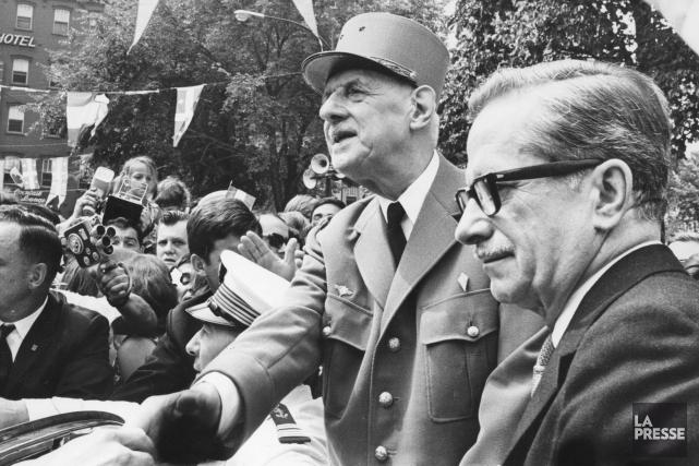Éditorial / Il y a 50ans aujourd'hui, le président français Charles de Gaulle... (Archives, La Presse)