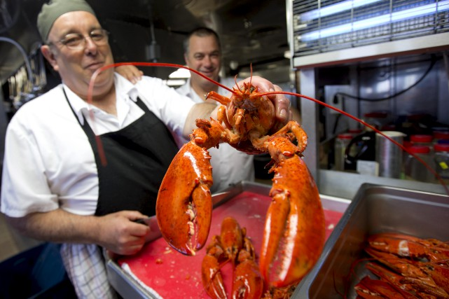 Le prix du homard, particulièrement élevé en 2017,... (La Presse)