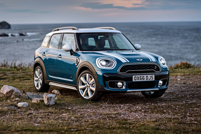Cooper S ALL 4... (Photos fournies par Mini)