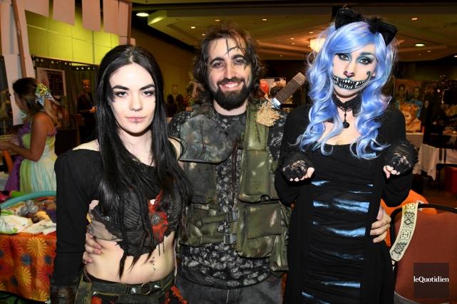 Les amateurs de cosplay (s'habiller comme les personnages... (Photo Le Quotidien, Michel Tremblay)