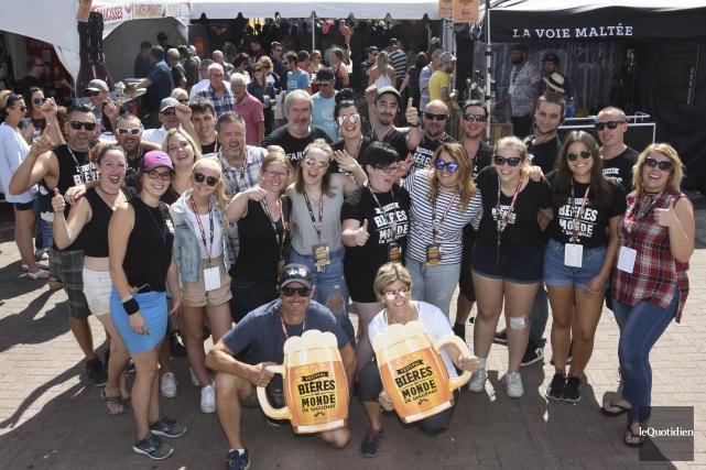 La 9e édition du Festival des bières du... (Photo Le Quotidien, Michel Tremblay)