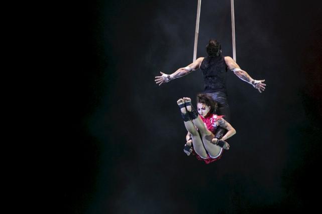 Le Cirque du Soleil présente son spectacle Stone... (Olivier Croteau)