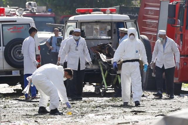 Selon le ministère de l'Intérieur, «24 personnes ont... (REUTERS)