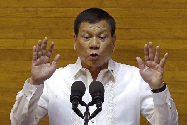 Le président philippin Rodrigo Dutertea consacré une importante... (AP)