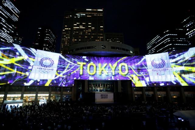 À Tokyo, un concert et d'autres festivités ont... (Photo Toru Hanai, REUTERS)