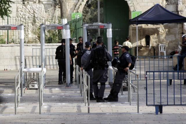 Le gouvernement israélien a décidé de cesser d'utiliser... (Photo AP)