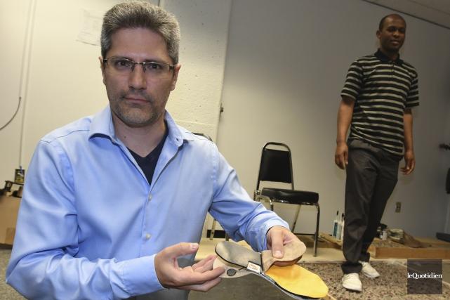 Le chercheur Martin Otis, spécialisé en mécatronique (une... (Le Quotidien, Michel Tremblay)