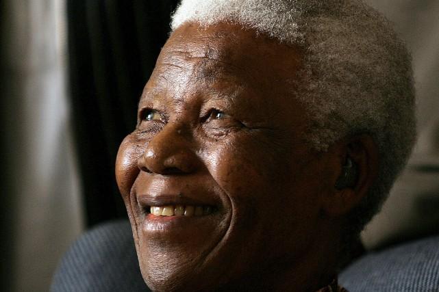 Graça Machel, la veuve de Nelson Mandela, avait... (Associated Press)